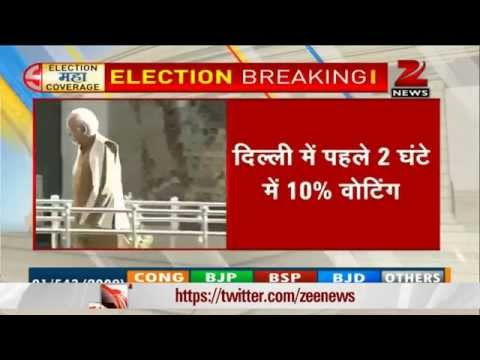 Elections 2014: Around 10.1% voter turnout in Delhi till 9 am