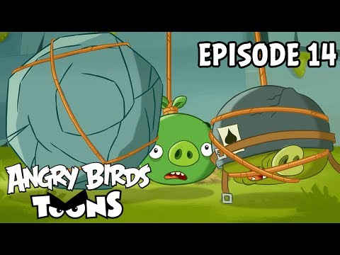 Angry Birds Toons #14 - Dopey na laně