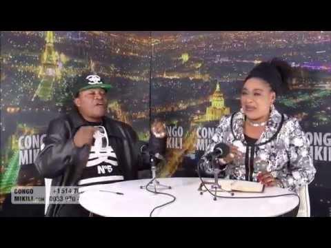 SCANDAL, Siatula a lelisi maman Elyane Nitu en pleine émission..CONGOMIKILI