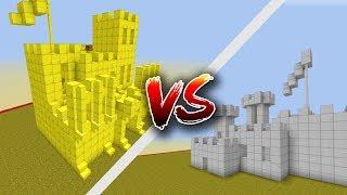 Thử Thách Solo Phá Nhà Vàng Trong Minecraft