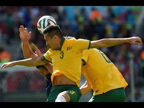 AUSTRALIA 2 NETHERLANDS 1 WORLD CUP 2014 GOAL IN SECONDS!