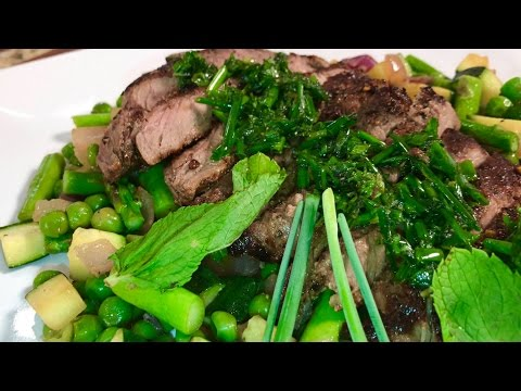 Lean Green Steak Machine!