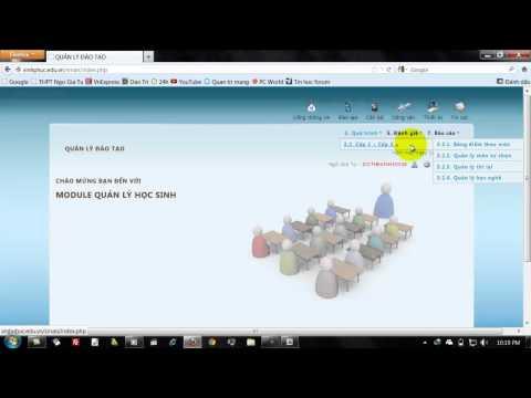 Huong dan Nhap diem len Website truong THPT Ngo Gia Tu