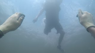 Scaring People From Underwater at the River! - Prank (Funny Reactions) | DALLMYD