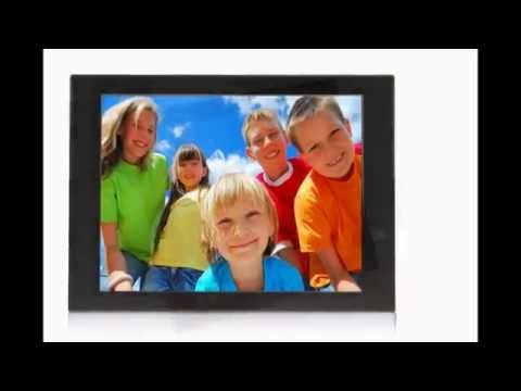 "Pixstar 10.4""  FotoConnect FotoConnect XD Digital Picture Frame with Wi-Fi, Email, UPnP-Black"
