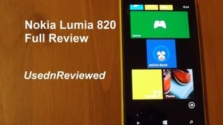 Nokia Lumia 820 Review (2013)