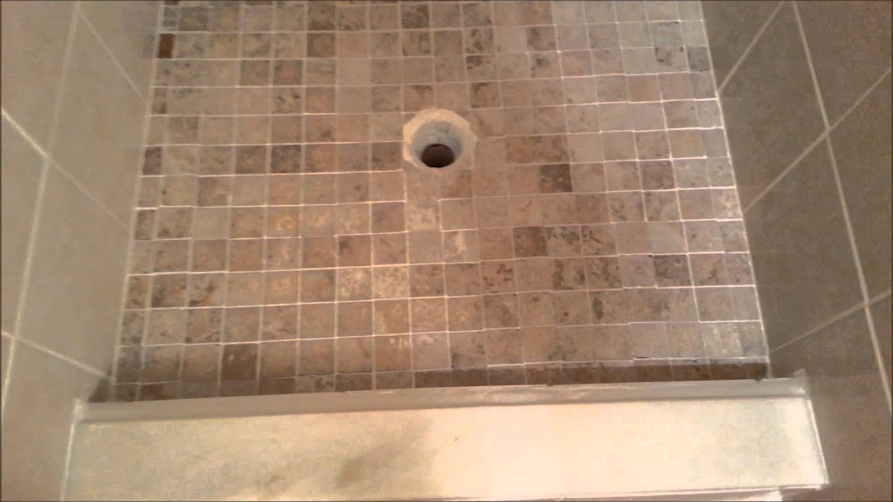Tile Redi Shower Pan Install Youtube