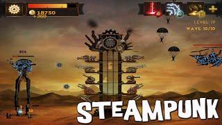 Steampunk en español - Defiende tu Torre