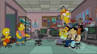 The Simpsons: Angry Nerds