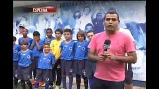 Pequenos jogadores Cruzeirenses disputar�o o Mundial