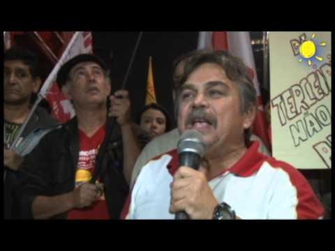 Ricardo Saraiva Big fala sobre a participação da Intersindical na Avenida Paulista