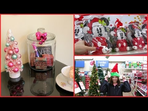 Vlog ~ Shopping, Christmas Decorations, Mini Haul & More