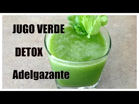 Jugo Verde: Adelgazante, Depurativo, Detox y Diurético {Green Drink}