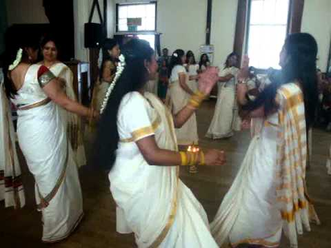 salford malayalee association - thiruvathira 2012