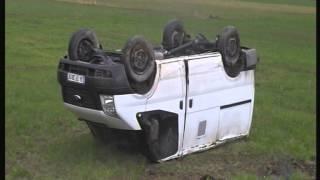Para Nakil Aracı kaza görüntüsü