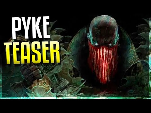 PYKE CHAMPION TEASER!!! WHAT ARE HIS ABILITIES? Analysis Video! - League of Legends