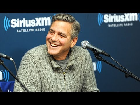George Clooney's Revenge On Tina Fey and Amy Poehler // SiriusXM // Town Hall FEB 2014