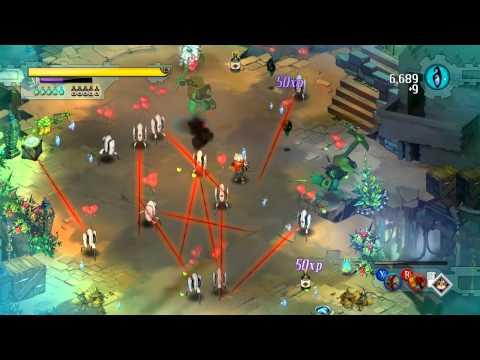 Порталы и турели в игре Bastion