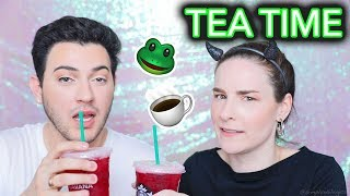 SPILLING TEA? Beauty tutorial w/ Manny MUA | Outtakes & Extras