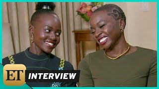 'Black Panther': Lupita Nyong'o and Danai Gurira (FULL INTERVIEW)