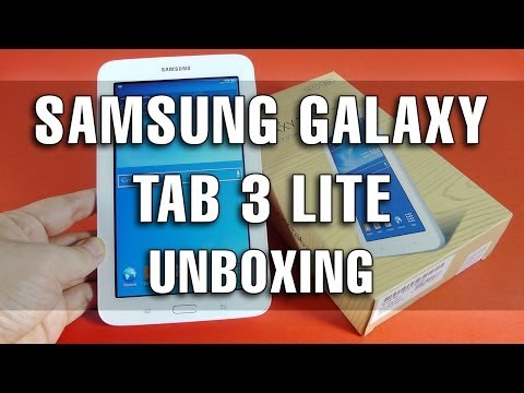 Samsung Galaxy Tab 3 Lite Unboxing - Mobilissimo.ro