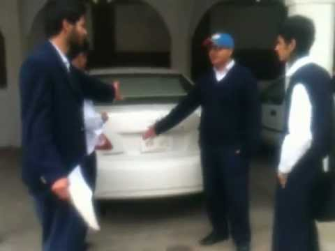 Missile Attack On Bahria Principal's Car