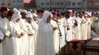 صلاة وخطبة عيد الفطر لعام 1434هـ - الشيخ يحيى المدغري