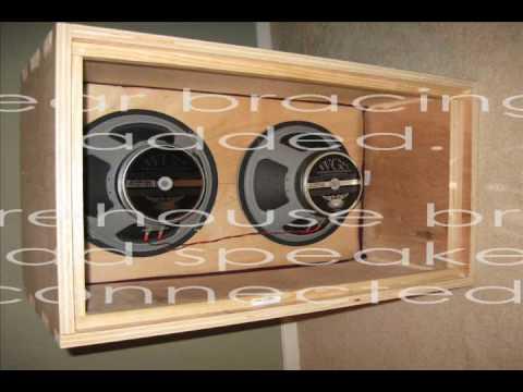 Diy 2x12 guitar speaker cabinet plans