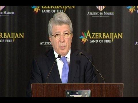 Enrique Cerezo renueva el compromiso con Azerbaijan