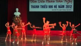 Cung Van Hoa Thieu Nhi Dien Bien Mua Erobic