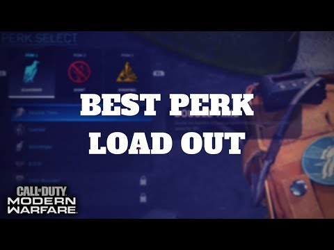 Best Perk load out in COD MW | Must have Perk | COD MW Tips