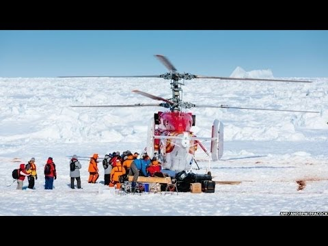 ANTARCTIC RESCUE BEGINS ON THE ICE-BOUND SHIP - BBC NEWS
