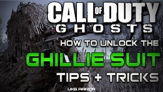 Call Of Duty: Ghosts How To Unlock The GHILLIE SUIT