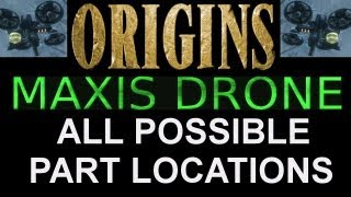 """""""Black Ops 2 Origins"""" How To Build Maxis Drone ALL PART"""