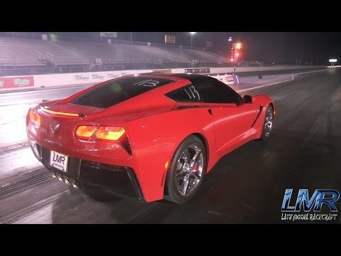 Quickest All Motor C7 Corvette - 11.47 @ 121.9mph - LMR Tune Only