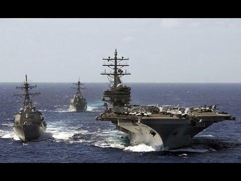 Sức mạnh tác chiến cụm tàu sân bay Mỹ đang tuần tra ở Biển Đông