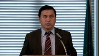 Presentation of Kyrgyz Book