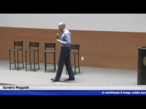 Palestra, A Caminha é Longa | Sandro Magaldi