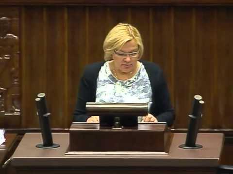 [79/211] Krystyna Poślednia: Sprawozdanie Komisji Ochrony Środowiska, Zasobów Naturalnych i Le...