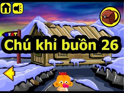Chú khỉ buồn 26, Chơi game chú khỉ buồn online tại Gamehay24h.vn