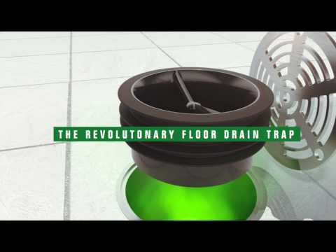 "Green Drain 3"" Drain Trap Seal"