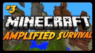 Minecraft: AMPLIFIED Survival Ep. 3 - DANGEROUS TRAVELS!