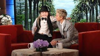 When Ellen Met Elias (7-year-old piano prodigy)