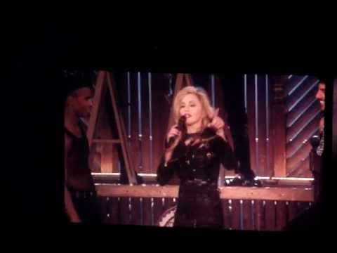 Madonna - MDNA 2012 Tour Speech - Montreal (August 30th, 2012)