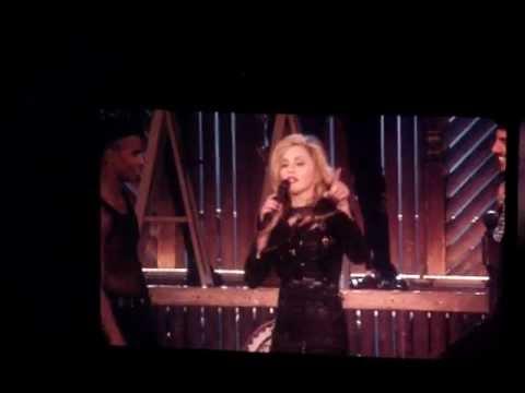 Madonna - MDNA 2012 Tour Speech - Montreal (August 30th, 2012)