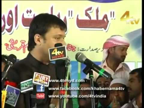 AKBAR OWAISI HATE SPEECH AT MIM Nirmal-Adilabad Jalsa Part 5