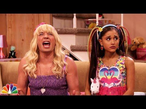 Ariana Grande on Tonight Show with Jimmy Fallon