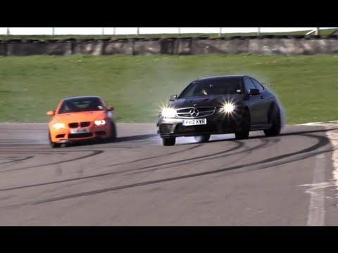 Porsche GT3 RS 4.0 v BMW M3 GTS v Mercedes C63 AMG Black Series - /CHR