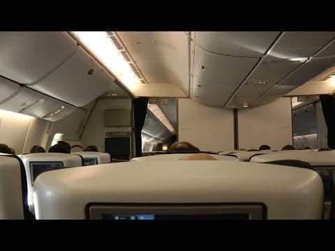 British Airways BA016: Sydney (Australia) to Singapore (World Traveller Plus)