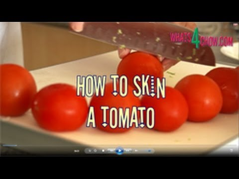 How to Skin a Tomato